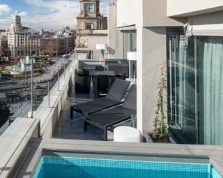 hoteles con piscina privada en la habitaci n barcelona